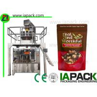 Quality Stand Up Pouch Filling Sealing Machines Premade Zipper Bag Packing Equipment Manufacturer for sale