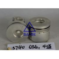 6BG1 ENGINE PISTON KIT 8-97358-5740 ISUZU DIESEL ENGINE FOR HITACHI SUMITOMO EXCAVATOR