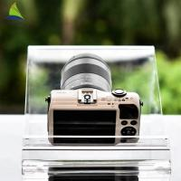 Quality Countertop Acrylic Shop Display Transparent Clear Acrylic Camera Display Rack for sale