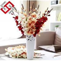 Quality Floral Artificial Silk Flower for Christmas Home Decoration for sale