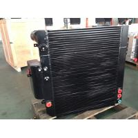 Quality Black High Pressure Resistant Radiator For Engineering Machinery for sale