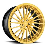 Buy Porsche Forged Wheels  22 inch gold painting alloy aluminum 3 piece forged wheels rims at wholesale prices