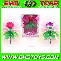 Quality Best Promtional Gifts ,Induction Flying Rose with light ,plastic toys for sale