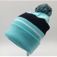 Quality Nice Womens Knit Beanie Hats 100% Acrylic Material Fully Customizable for sale