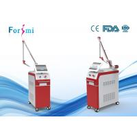 China Q-switch nd yag laser machine for pigment removal tattoo removal and vascular lesions removal on sale