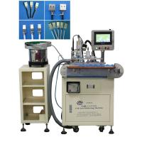 China Fully Automatic Usb Cable Making Tin Soldering Machine 90 Degree Soldering Angle on sale