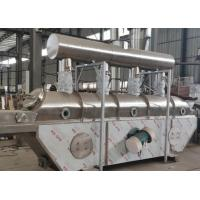 Buy SS316L stainless steel VFBD vibration fluid bed dryer for salt dehydration at wholesale prices