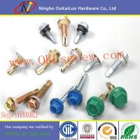 Hardend Steel Hex Head Self Drilling Screws for Steel