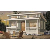 Quality Prefab House Kits Prefabricated House Kit , Small Villa Design / Wpc Wall Clading for sale