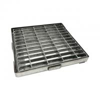 Quality Galvanized Steel Grating  , Steel Grating Cover Drain Cover 302402 for sale
