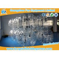 Buy cheap TPU black / Clear Inflatable Bubble Ball with CE SGS Certification inflatable human ball product