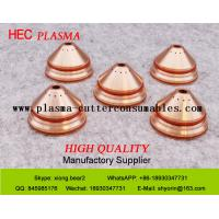 Quality Bevel cut Retaining Cap 220658 Hypertherm HPR130 Consumables ,  HPR400XD Bevel Plasma Cutter Consumables for sale