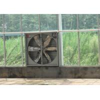Quality Highly Durable Greenhouse Cooling System Stainless Steel Blade Material Exhaust Fan for sale