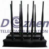 Buy cheap 8 Bands Adjustable GPS Signal Jammer 3G 4G LTE Phone WiFi Blocker VHF UHF All from wholesalers