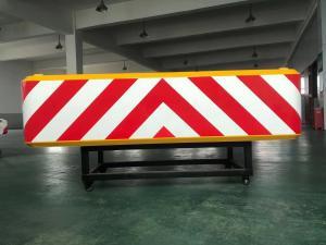 Quality 96kg Aluminum Traffic Management Attenuator 3M Reflective Film for sale