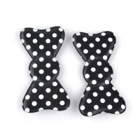 Quality Beautiful Bright Blue Hair Accessories Clips In Butterfly Shape , Hook Loop Hair Bow for sale