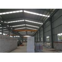 China Beautiful Appearance Steel Structure Warehouse Building Kits High Strength on sale