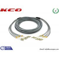 Quality FC 3mm Outdoor Fiber Optic Patch Cable , 6 Core Multimode Fiber Optic Cable for sale
