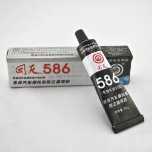 No odor 586 Black rtv silicone sealant / black silicone gasket maker