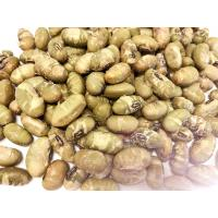 Quality Natural Health Pure Roasted Salted Crispy Green Soya Bean Snacks for sale