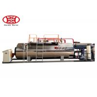 Quality 1 T/H Industrial Fire Tube Natural Gas Boiler , Diesel Oil Dual Fuel Fired Steam Boiler for sale