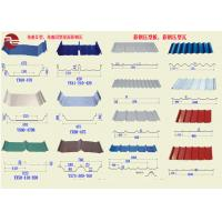 China Durable Stainless Colour Coated Roofing Sheets BS DIN ASTM Standard on sale
