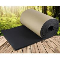 China High Density Black Rubber Foam Insulation Sheet on sale