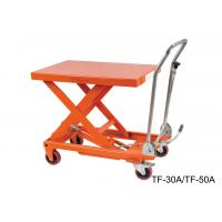 Quality Hydraulic Compact Manual Scissor Lift Table High Capacity For Assembly Line for sale