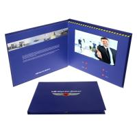 Quality Opaque LCD Video Greeting Card Recordable With Long Video Playing Time for sale