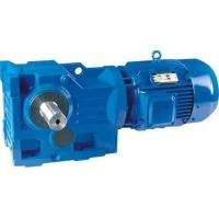China K series helical bevel gear units for woodworking machine on sale