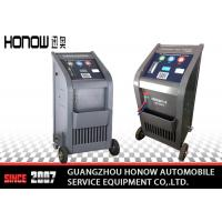 Quality High Speed Automotive AC Service Machine , Car Refrigerant Recovery Machine Fully Auto for sale