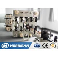 China Fiber Optic Drop / FTTH / Premises Cable Making Equipment Jacketing Machine 80rpm on sale