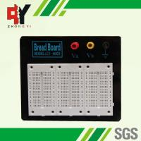 China Stainless Steel White Experimental Electronics Breadboard Black Alum Plate on sale