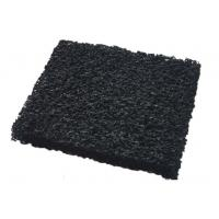 China ISO9001 10 - 60 ppi Granular Activated Carbon Air Filter Media With High Carbon Content on sale
