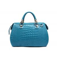 Quality Cool Crocodile Skin Leather Tote Hnadbag for Girls T1022 for sale