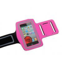 Quality GYM Velcro Jogging Sports Neoprene Phone Case For Iphone 5 With Pocket For Car Key for sale