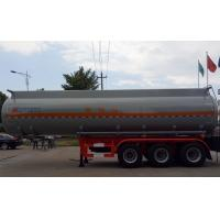 Buy cheap 37m3 Tanker semi trailer for Corrossive goods sodium hydroxide sulfuric acid nitric acid from wholesalers