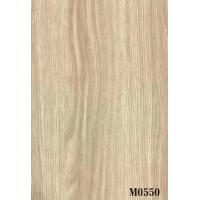 Quality White Vivid Texture Wood Grain Paper Surface Smooth Environment - Friendly for sale