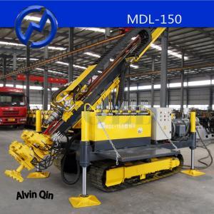 Versatile Crawler Drilling Rig,MDL-150 Full Hydraulic Power Head Drilling Rig