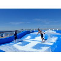 Quality Fiberglass Water Park Wave Pool Flowrider Surf Simulator High Security for sale