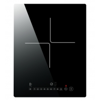 Crystal Glass 12 Inch Single Portable Induction Cooktop