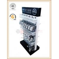 Quality pos display stand with plastic hooks  for small gifts advertising for sale