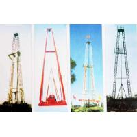 Buy Vertical Shaft Core Drilling Rig Mast / Straight And Slanting Drill Tower at wholesale prices