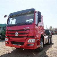 China 371hp Tractor Head Truck 4x2 With Air Conditioner Manual Transmission Type on sale