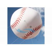 Quality Digital Printing Advertising Sports Balloons Inflatable Baseball For Special Event for sale