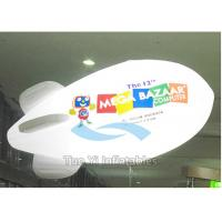 Quality Customized Advertising Zeppelin Helium Balloon Inflatable Flame Retardant for sale