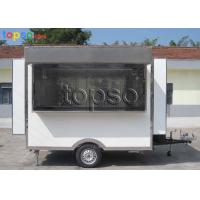 China Convenient  Electric Mobile Concession Trailer High Visibility Tail Light Signal System on sale