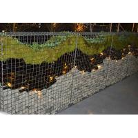 Quality Decorative Gabions Baskets for Gardens, Green Gabion Fences Wall for Landscape for sale