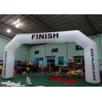 Quality Inflatable Finish Line Arch , PVC Race Inflatable Arches Gate for sale