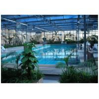 Quality Eco Friendly Ecological Greenhouse High Strength Hot Dip Galvanized Steel Structure for sale